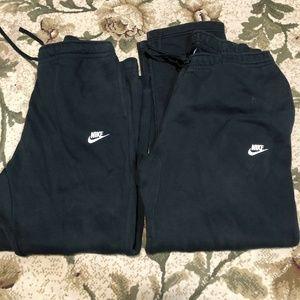 Nike Fleece Jogging Pants Lot of 2 XXL